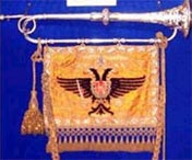 Silver Trumpet and Banner presented by Emperor Franz Josef 1907
