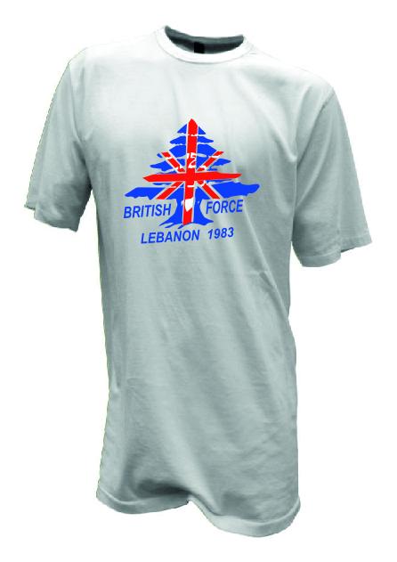Lebanon 1983 - 30 Years on T Shirt