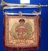 Queens Bays Cavalry Trumpet c 1910