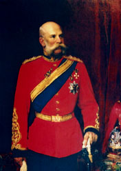 Franz Josef Colonel-in-Chief 1st King's Dragoon Guards 1896 - 1914